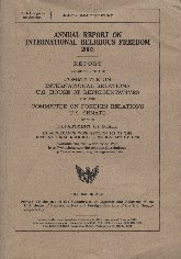 ANNUAL REPORT ON INTERNATIONAL RELIGLOUS FREEDOM 2003.jpg